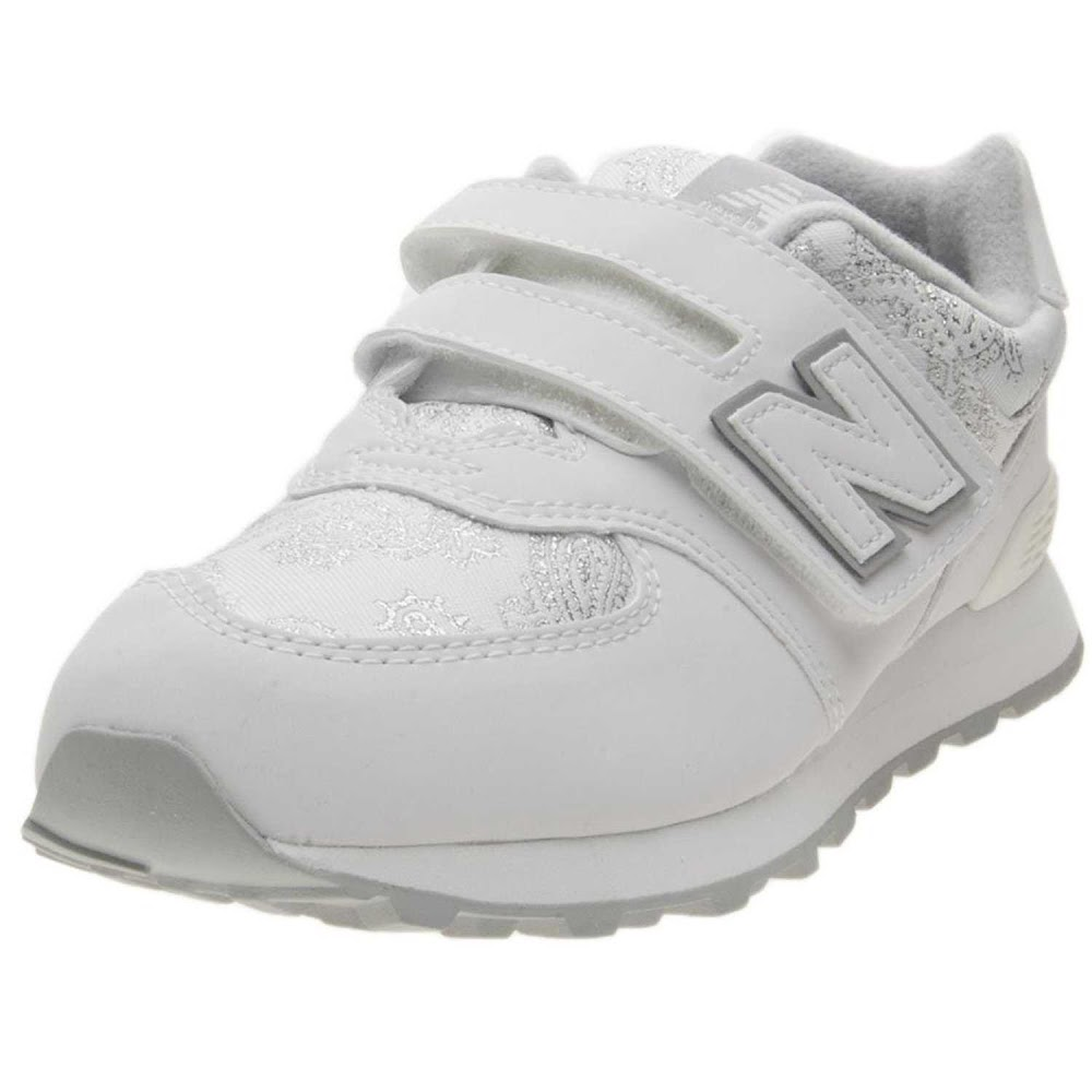 Scarpe Sneakers New Balance 574 YV574PW-BIANCO Bambina Ragazza | eBay