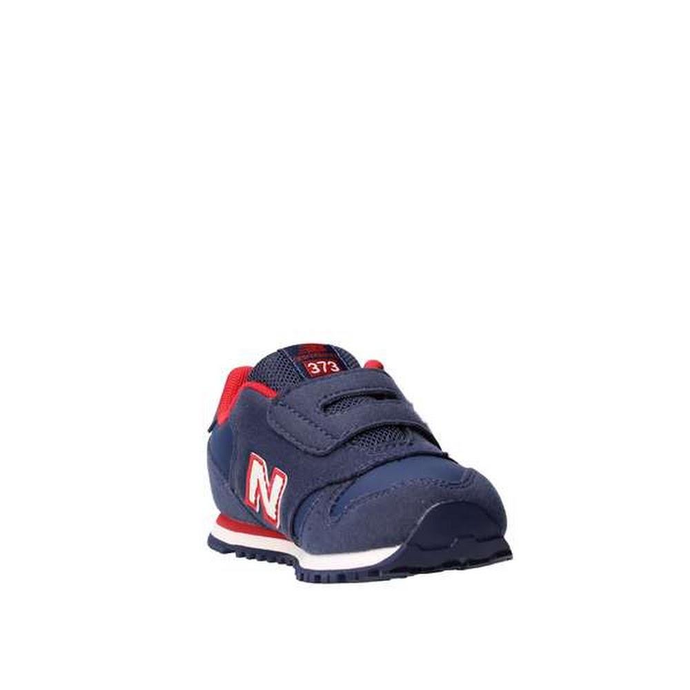 Scarpe Sneakers New Balance KV373NDI-NAVY/RED Bambino   eBay