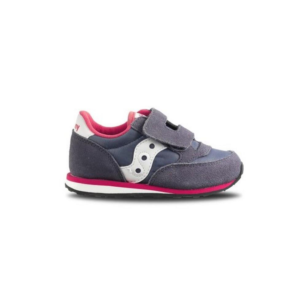 Scarpe per bambine e ragazze Unisex Saucony BABY JAZZ Blu ST57180